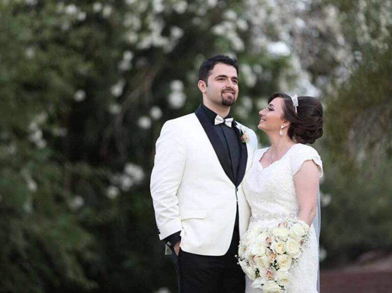 Precios de paquetes de fotografía de boda en Mesa AZ
