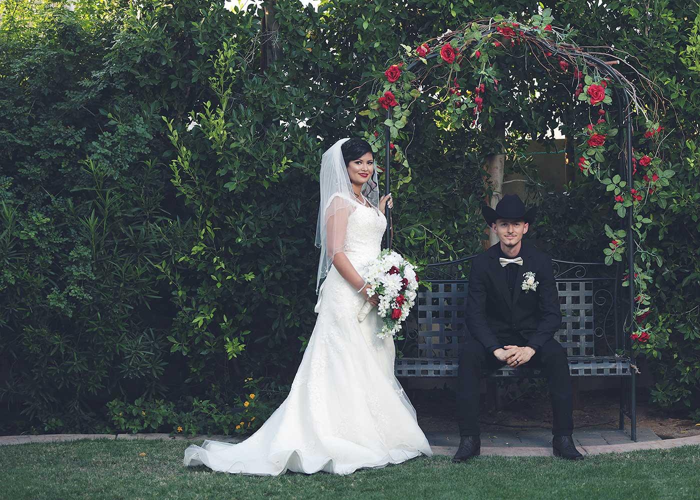 el mejor servicio de fotografía de boda de Mesa Arizona